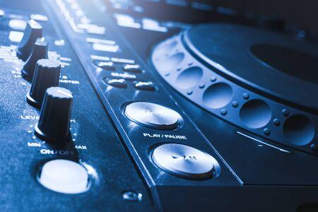 dj mixer console desk