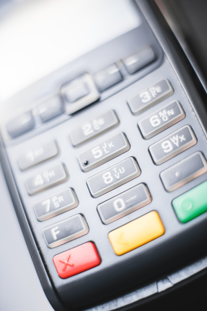 credit card pay terminal