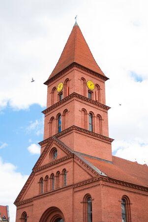 torun: church in torun Stock Photo
