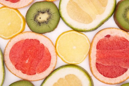 colourfully: fruits colourfully background