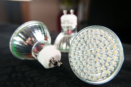 led light bulb photo