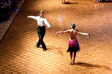 Polish championship in the ballroom dance March 12 in Szczecin 2011, Poland Stock Photo - 9083961