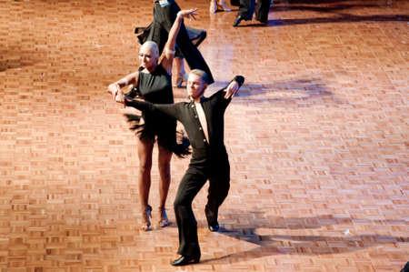 Polish championship in the ballroom dance March 12 in Szczecin 2011, Poland Stock Photo - 9083967
