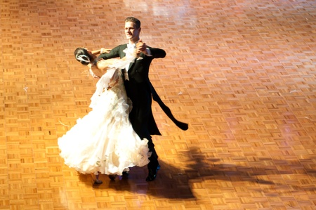 Polish championship in the ballroom dance March 12 in Szczecin 2011, Poland Stock Photo - 9083958