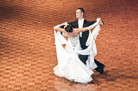 Polish championship in the ballroom dance March 12 in Szczecin 2011, Poland Editorial