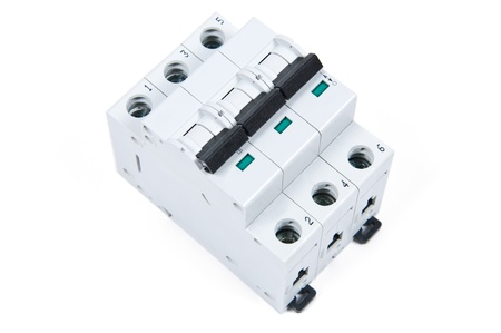 three phase: three phase safety switch in ON position