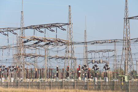 insulators: insulators on power plant