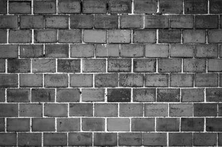 Red brick wall texture or background   photo