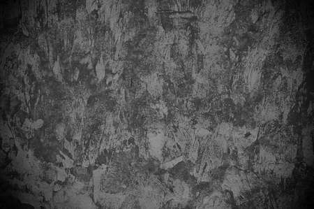 corroded: Closeup of rough dark black background  Stock Photo