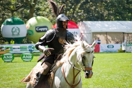 knights tournament in strzegom at HSBC FEI World Cup 2009