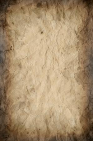 pergamino: Antique Old Vintage Paper Texture o Fondo