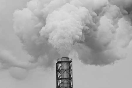 dirty smoke and pollution produced by factory Stock Photo - 16887614