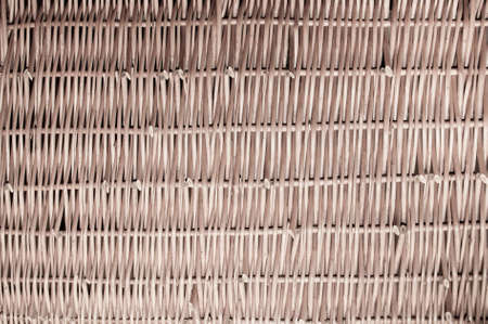 Brown woven wicker for use as background  photo