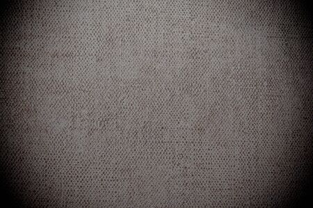 gray dark canvas texture or background  Stock Photo - 17192414