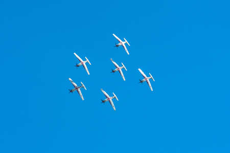 piloting: RADOM, POLAND - AUGUST 24-25 : Air Show 2013, Radom 30 August 2013