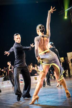 ルダシロンスカ Slaska, ポーランド-3 月 11, 2017-ルダシロンスカ Slaska のラテンダンスのポーランド選手権