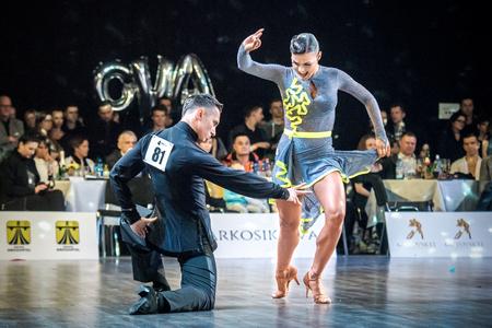 Ruda Slaska, Poland - March 11, 2017 - Polish Championship Of Latin Dance In Ruda Slaska
