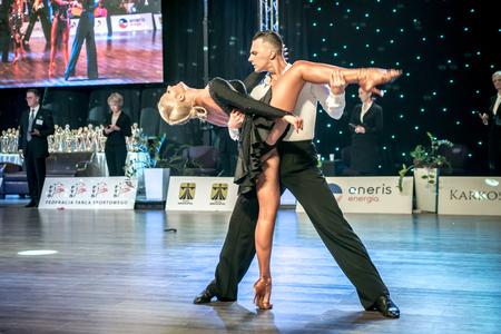 Ruda Slaska, Poland - March 12, 2017 - Polish Championship Of Latin Dance In Ruda Slaska