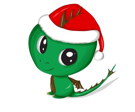 christmas dragon: christmas dragon