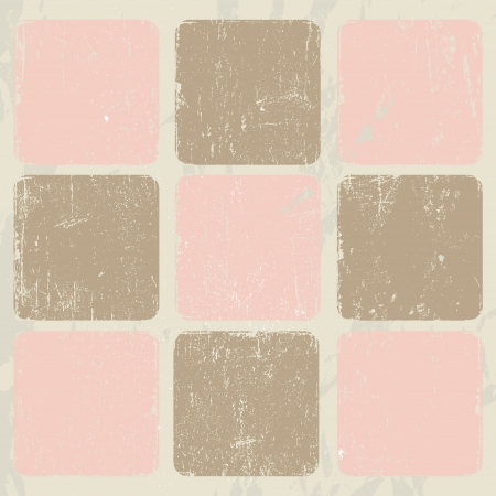 Abstract vintage poster Vector