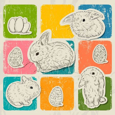 Vintage poster about Easter  Vector illustration EPS8 Stock Vector - 18853072