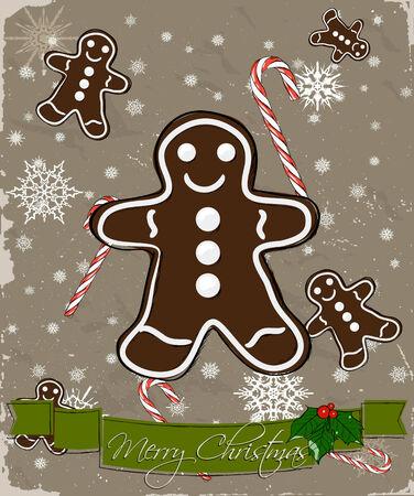 candycane: Christmas card