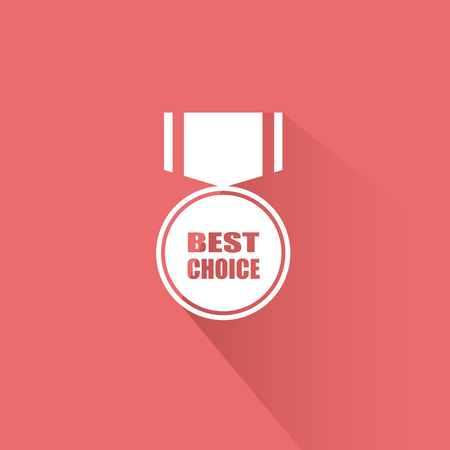 Best choice sign icon. Special offer symbol. Vector