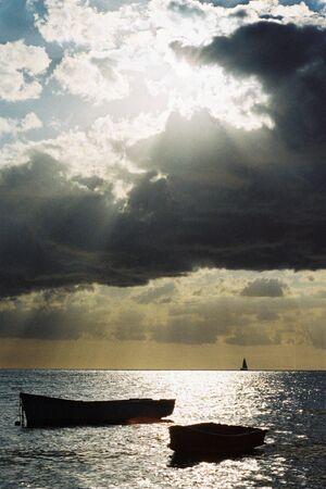 Port Louis sunset