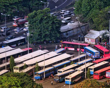 Victoria bus terminal, Port-Louis Mauritius
