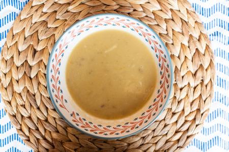 Organic Celery Soup, Vegan Food