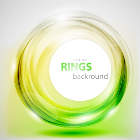 abstract rings background Stock Vector - 14652648