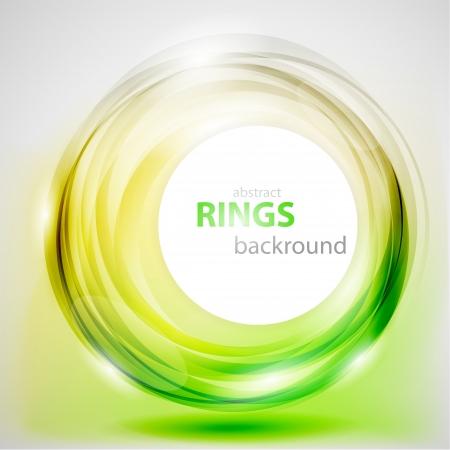 abstract rings background Ilustração