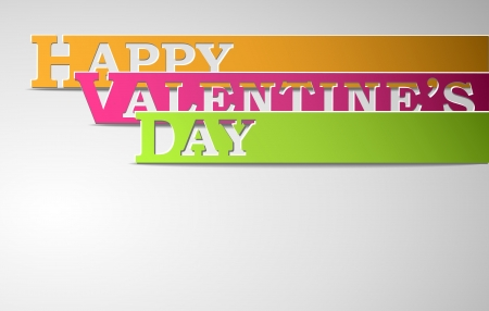 Happy Valentine's Day strips eps10 vector illustration Stock Vector - 17745879
