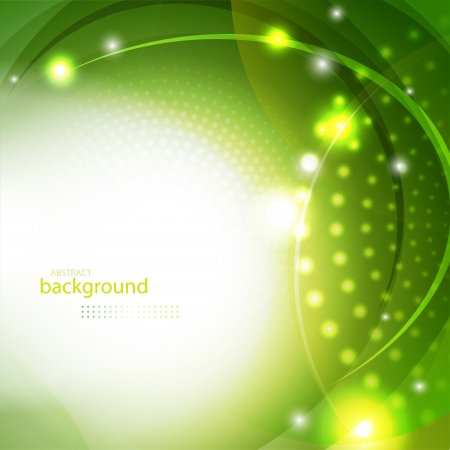 Abstract green shiny background eps10 vector illustration
