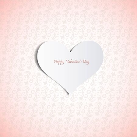 Valentine's day card.Can be used for packaging,invitations, Valentine's Day decoration. Stock Vector - 17745906