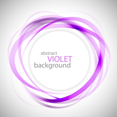 Abstract violet rings background eps10 vector illustration