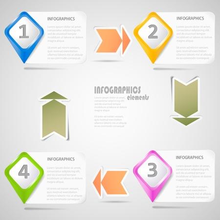 Original Infographics Elements Stock Vector - 17982851