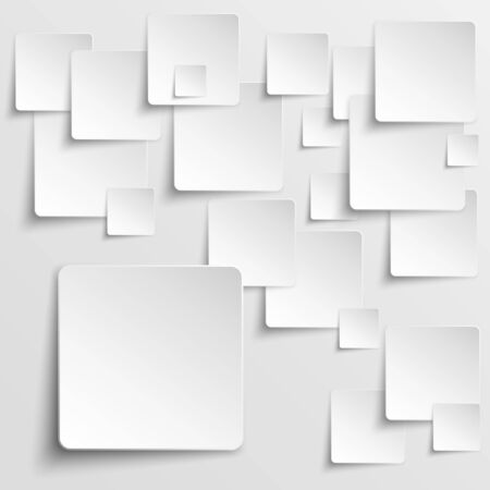 Paper squares abstract background
