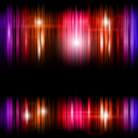 Abstract shiny colorful lines vector background