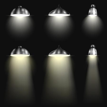 spotlight on stage: Three Types of Spotlights With Beams