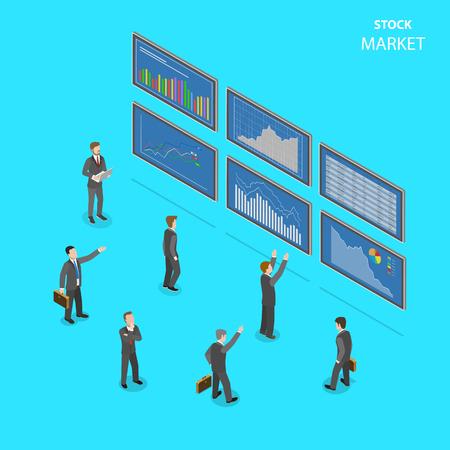 Stock market Ilustração
