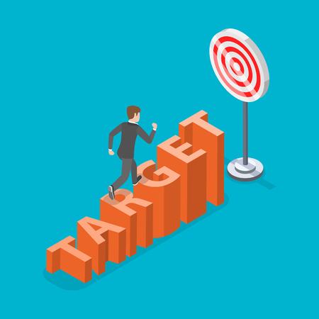 Target concept Stock Illustratie