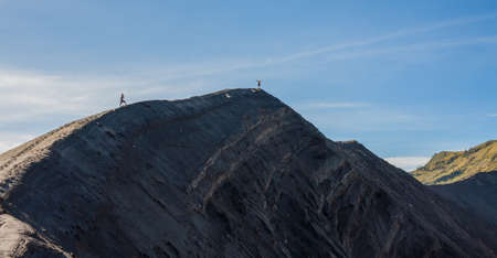 Mount bromo volcano java indonesia
