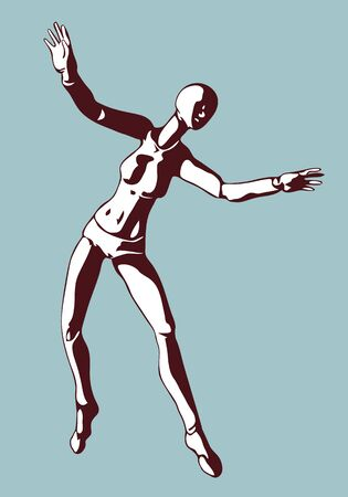 Manequin articulated expressions