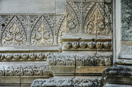 rung: Temple Detail, Phanom Rung Historical Park Stock Photo
