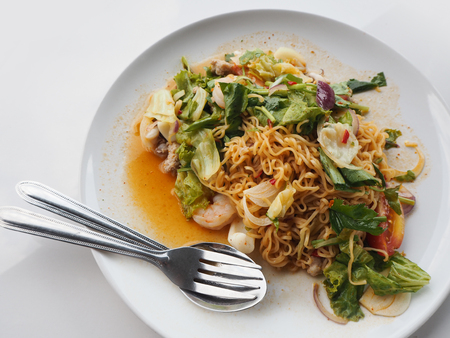 Spicy Noodle, Thai Food