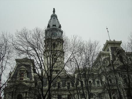 Philadelphia City Hall, Philadelphia, Pennsylvania, USA, building Stock Photo