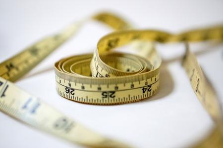 kit de costura: used yellow soft tape measurement sewing tailor ruler kit