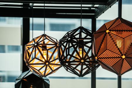 modern lamp design decoration Stock Photo