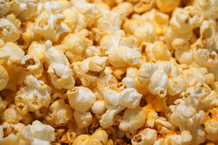 cheese flavour popcorn